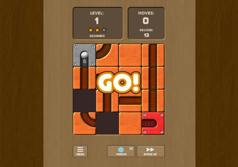 Unroll me - unblock the slots ゲーム画面