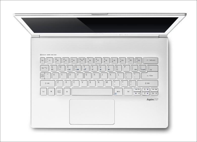 Acer Aspire S7-392-F58Q キーボード