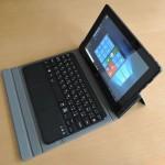 ドスパラ Diginnos DG-D09IW2 - 最新にしてキープコンセプトなCherryTrailタブレット、キーボードもいいよ!(実機レビュー)