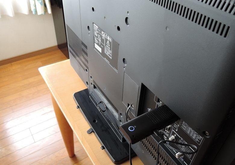 ドスパラ Diginnos Stick DG-STK2S テレビ接続1