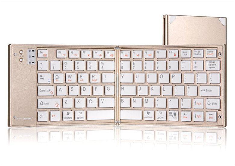 Motospeed BK40 Ultra-thin Flodable Bluetooth Keyboard
