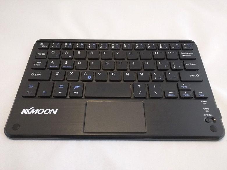 KKmoon 59キー 超薄型Bluetooth キーボード