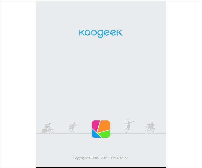 Koogeek スマートスケールアプリ1