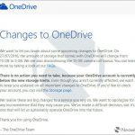 OneDriveの無料容量縮小は7月からスタート!早めに対策しておこう