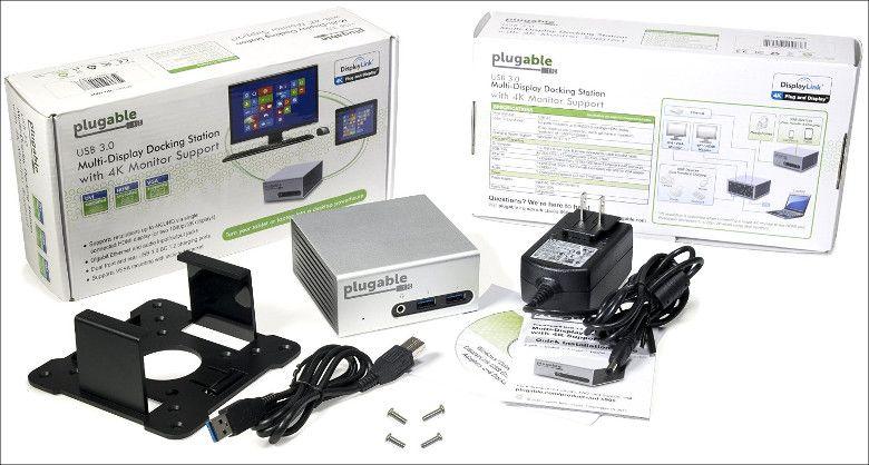 Plugable UD-5900 パッケージ