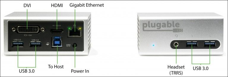 Plugable UD-5900 インターフェース