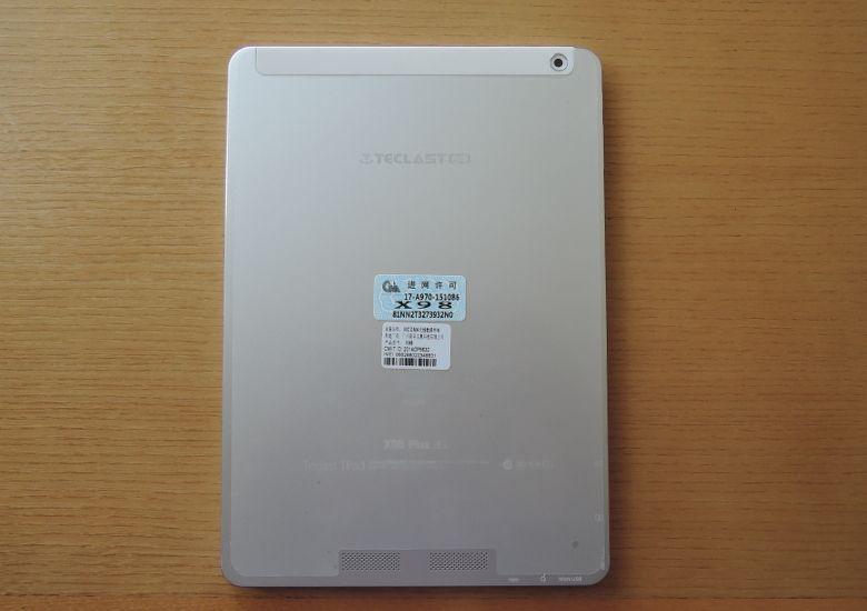 Teclast X98 Plus 3G 背面