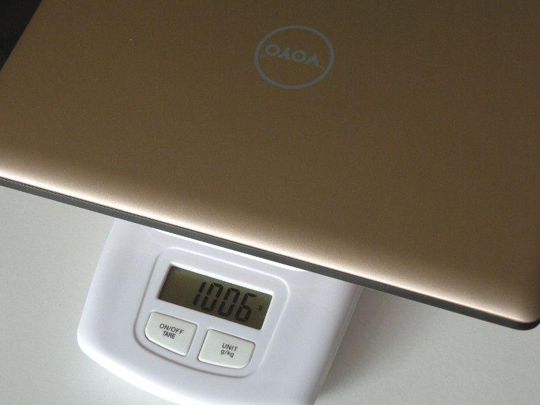 VOYO VBOOK V1 重量
