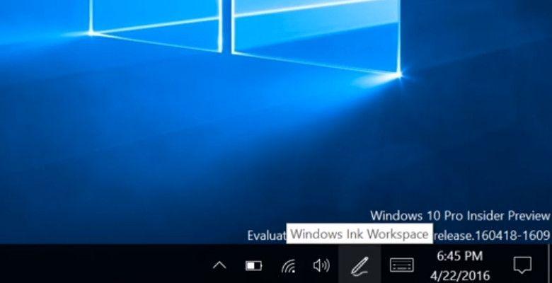 Windows  Ink アイコン