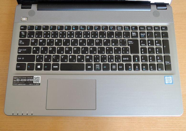 ドスパラ Critea DX10 キーボード