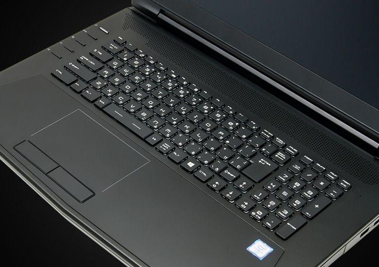 ドスパラ raytrek QSF1000HGWS キーボード