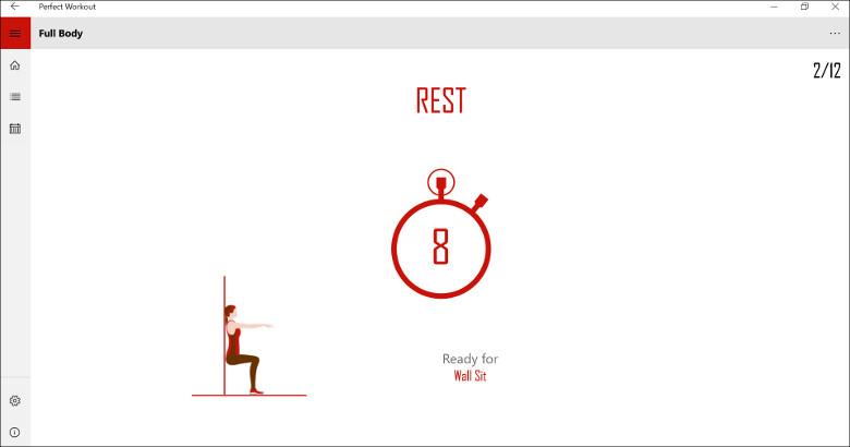 Perfect Workout 休憩
