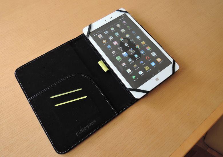 PureGear Universal Tablet Folio 8インチタブレットと