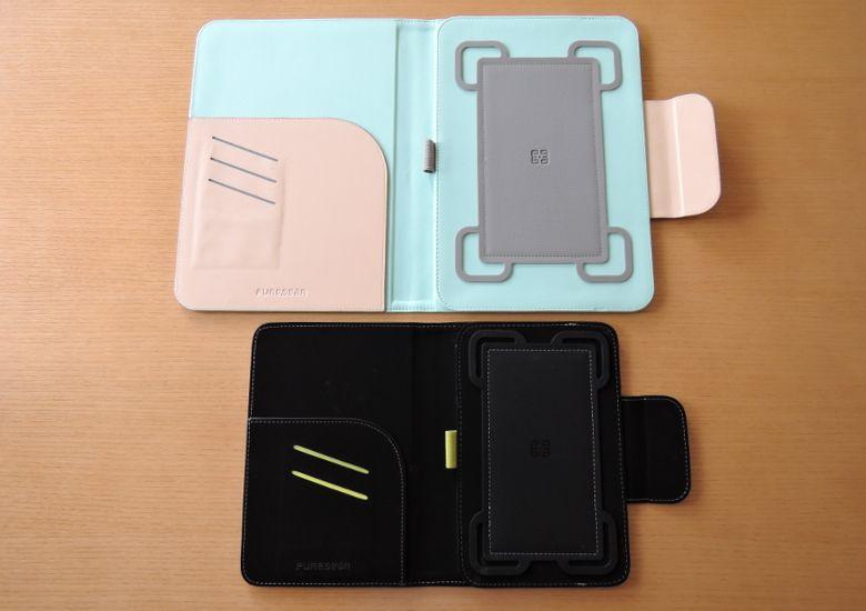 PureGear Universal Tablet Folio 開いたところ