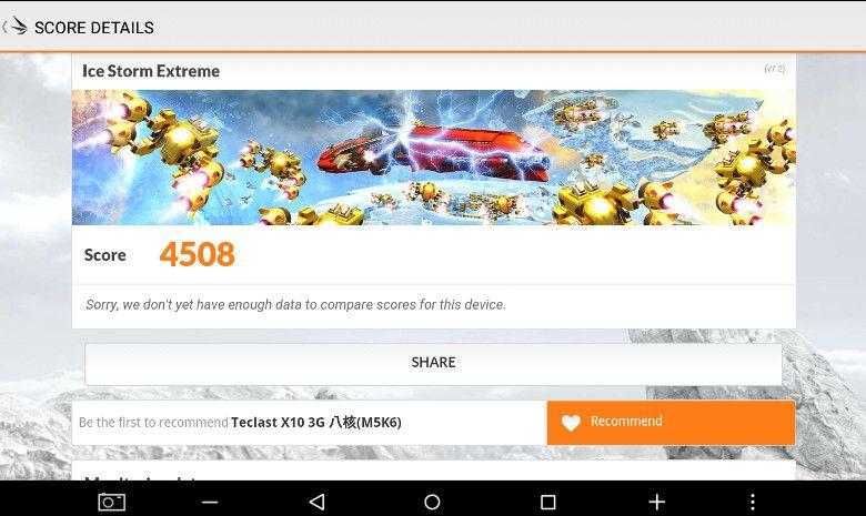 Teclast X10 3G 3D Mark