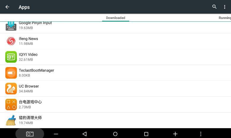 Teclast X10 3G アプリ一覧2