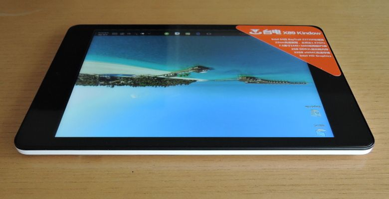 Teclast X89 Kindow 底面