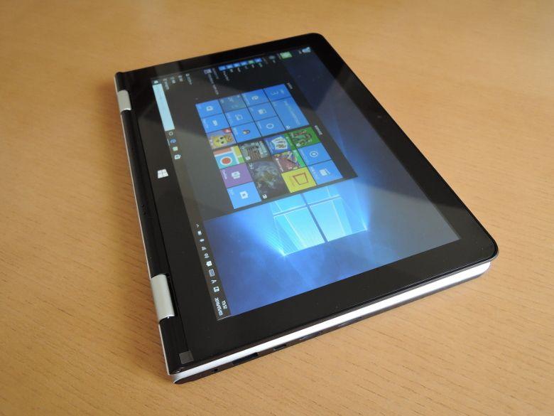VOYO VBook V1 タブレット形態