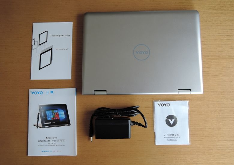 VOYO VBook V1 同梱物