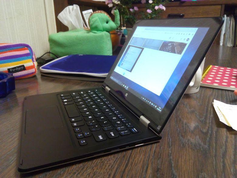 VOYO VBook V1 USBポート