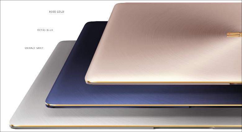 ASUS ZenBook 3 筐体色