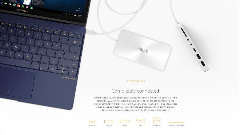 ASUS ZenBook 3 周辺機器