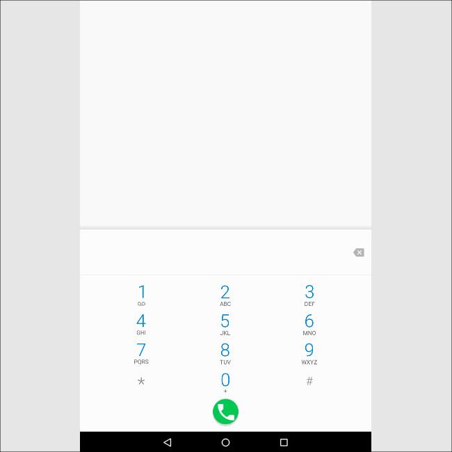 Cube T8 電話アプリ
