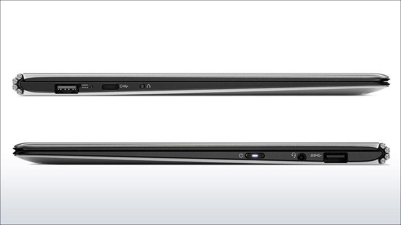 Lenovo YOGA 900S 入出力ポート