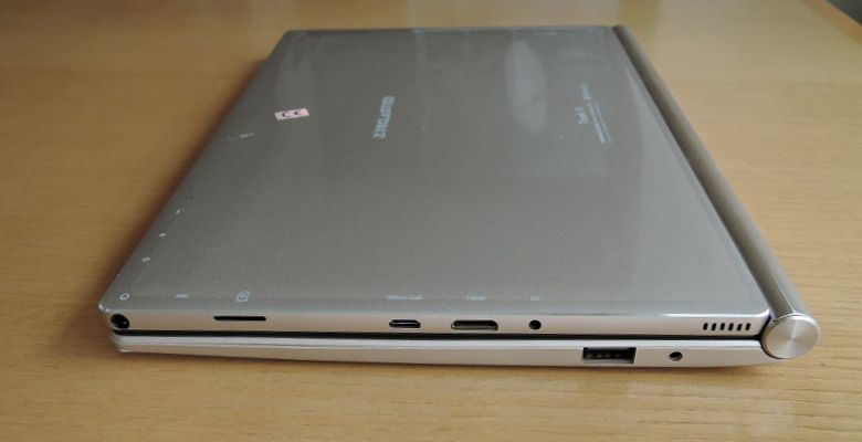 Teclast Tbook 10 キーボード接続 側面