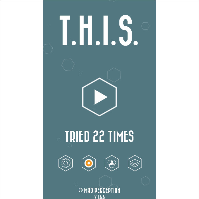 T.H.I.S. メニュー画面