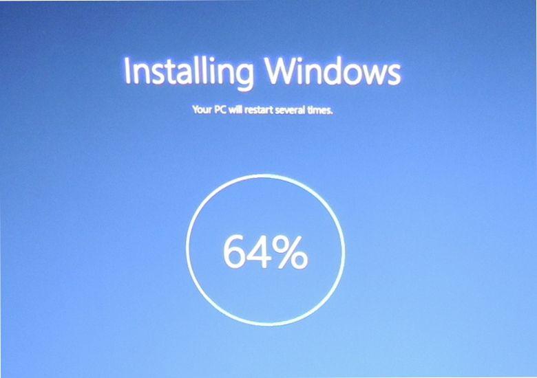 Windows 10を再インストール