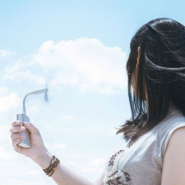 Xiaomi USB ポータブル扇風機 イメージ画像