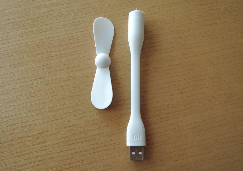 Xiaomi USB ポータブル扇風機 組み立て前