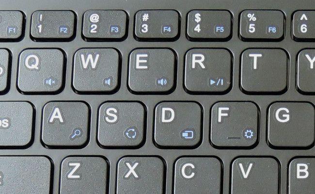 キーボードでボリューム調整