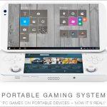 Portable Console for PC games - 5.5インチ、Windows 10、デュアルディスプレイ搭載のゲームマシン! ホントに発売されるか?