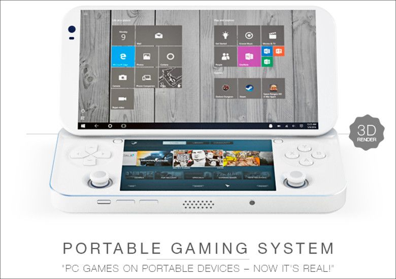 PGS Portable Console for PC games