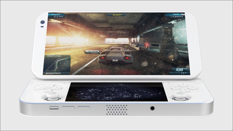 PGS Portable Console for PC games 開口