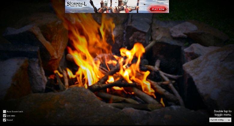 Relax Fire 画面
