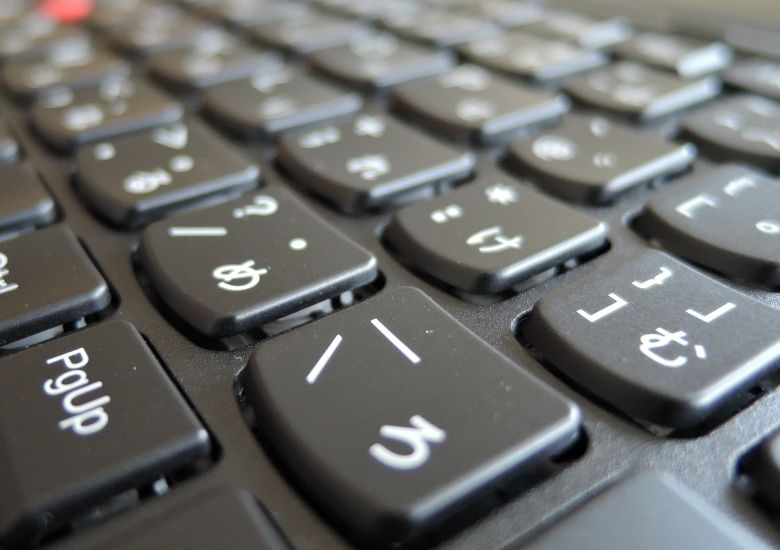 Lenovo ThinkPad Yoga 260 キーボード拡大