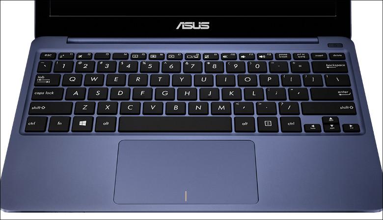 ASUS VivoBook E200HA-8350 キーボード