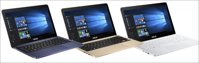 ASUS VivoBook E200HA-8350 筐体色