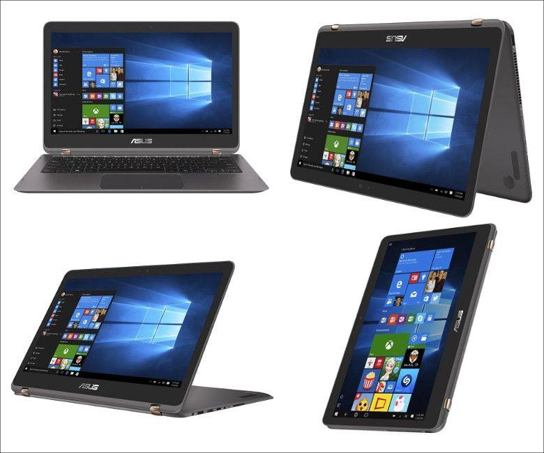 ASUS ZenBook Flip UX360UA 4つのスタイル