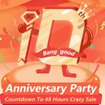 セール情報 - Banggoodが10週年記念セールを開催!「その日」のために準備イベントでポイントやクーポンを入手しておこう!