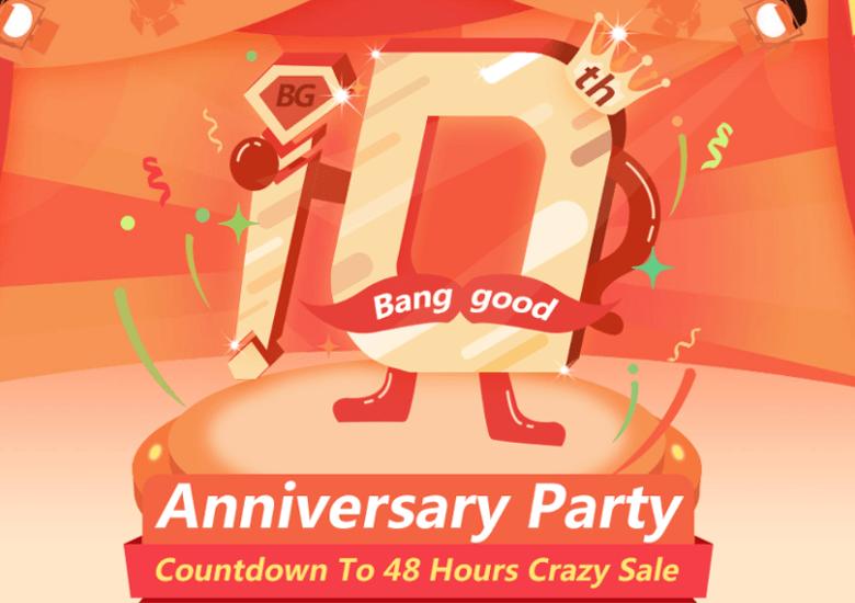 Banggood 10周年セール
