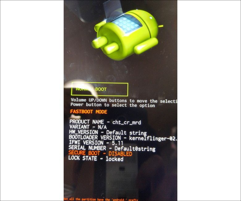 Android ブートローダー