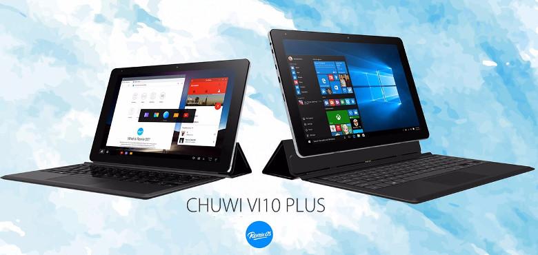 Chuwi Vi 10 Plus キーボード