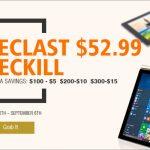 セール情報 - geekbuyingのタブレットセール、Teclast編がスタート!