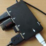ハイブリッドワークス HWMT1 - タブレット使い歓喜の充電可能なハブ!(実機レビュー)