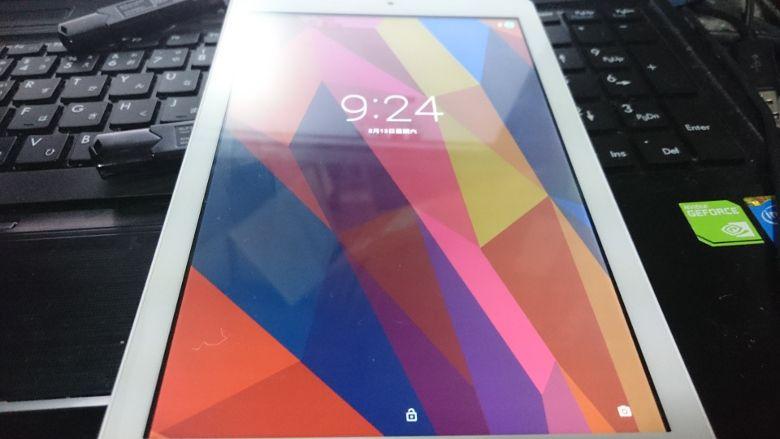 Cube iWork 8 Air Androidリカバリー完了