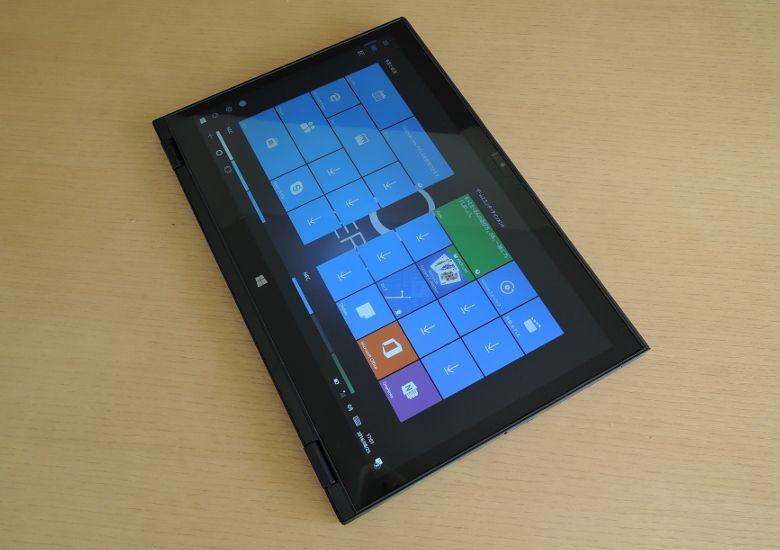 NEC LAVIE Direct HZ タブレットモード2